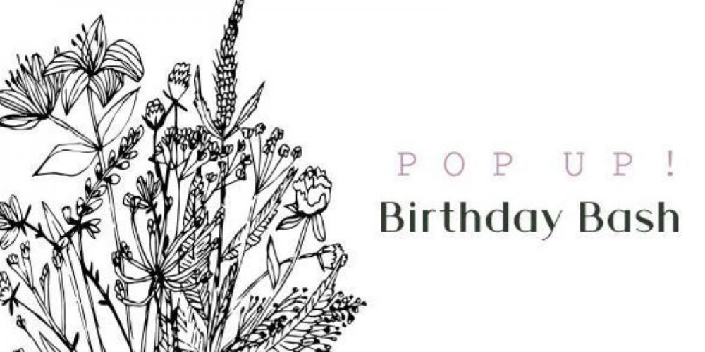 Pop Up Birthday Bash
