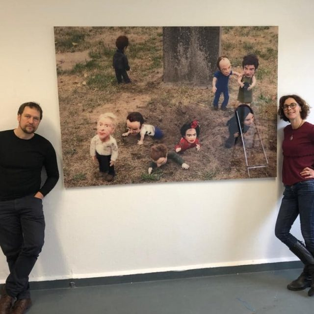 Ausstellung: The post mortem felted club – Part II